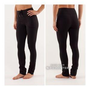 Lululemon Skinny Will Pant Legging 6 Black